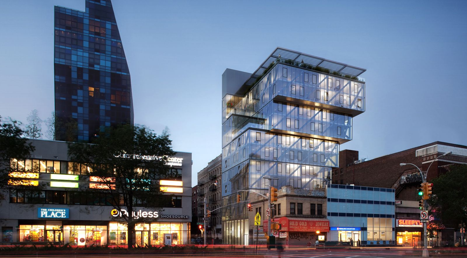 100 norfolk street in new york by oda new york for Architecture new york