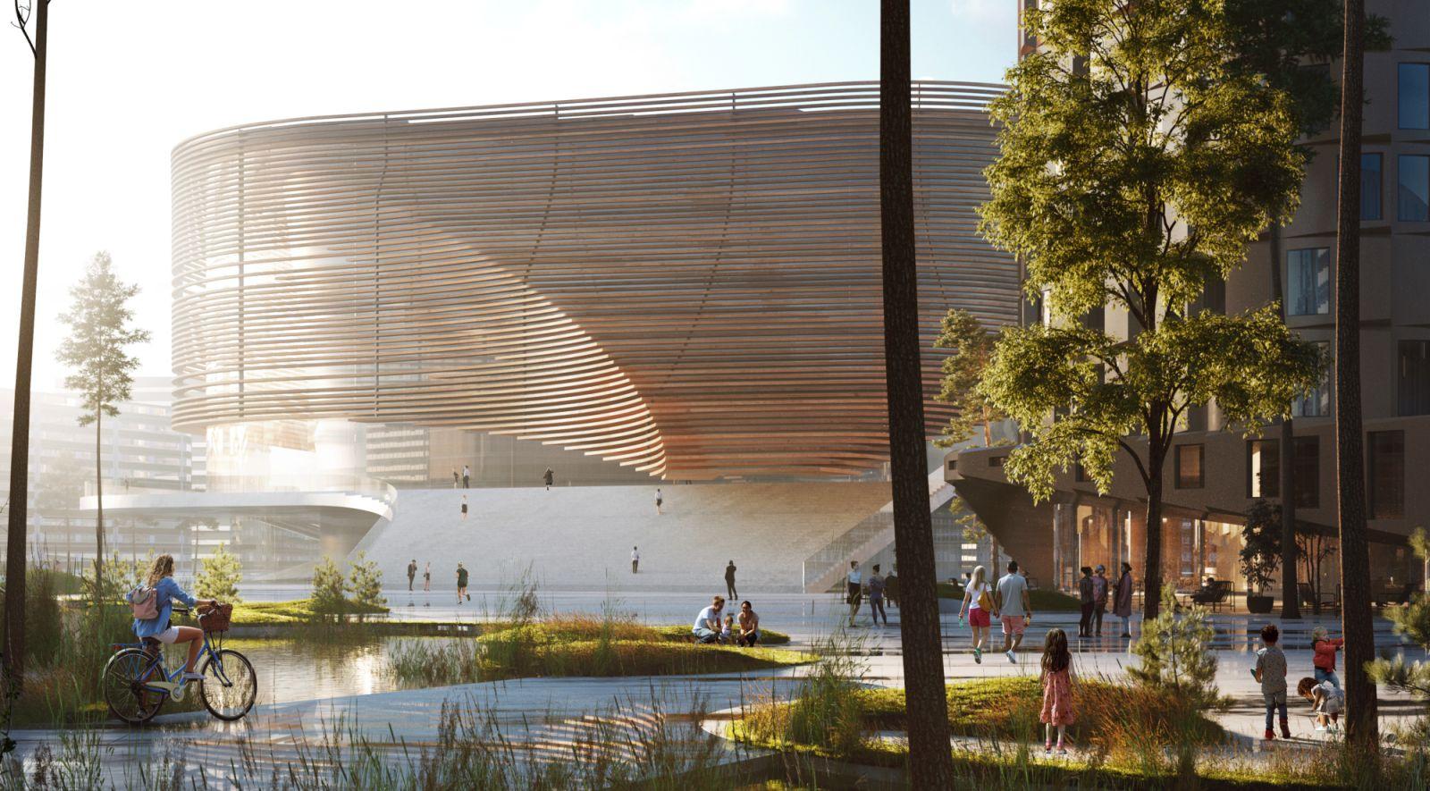 new Arena in Bergen