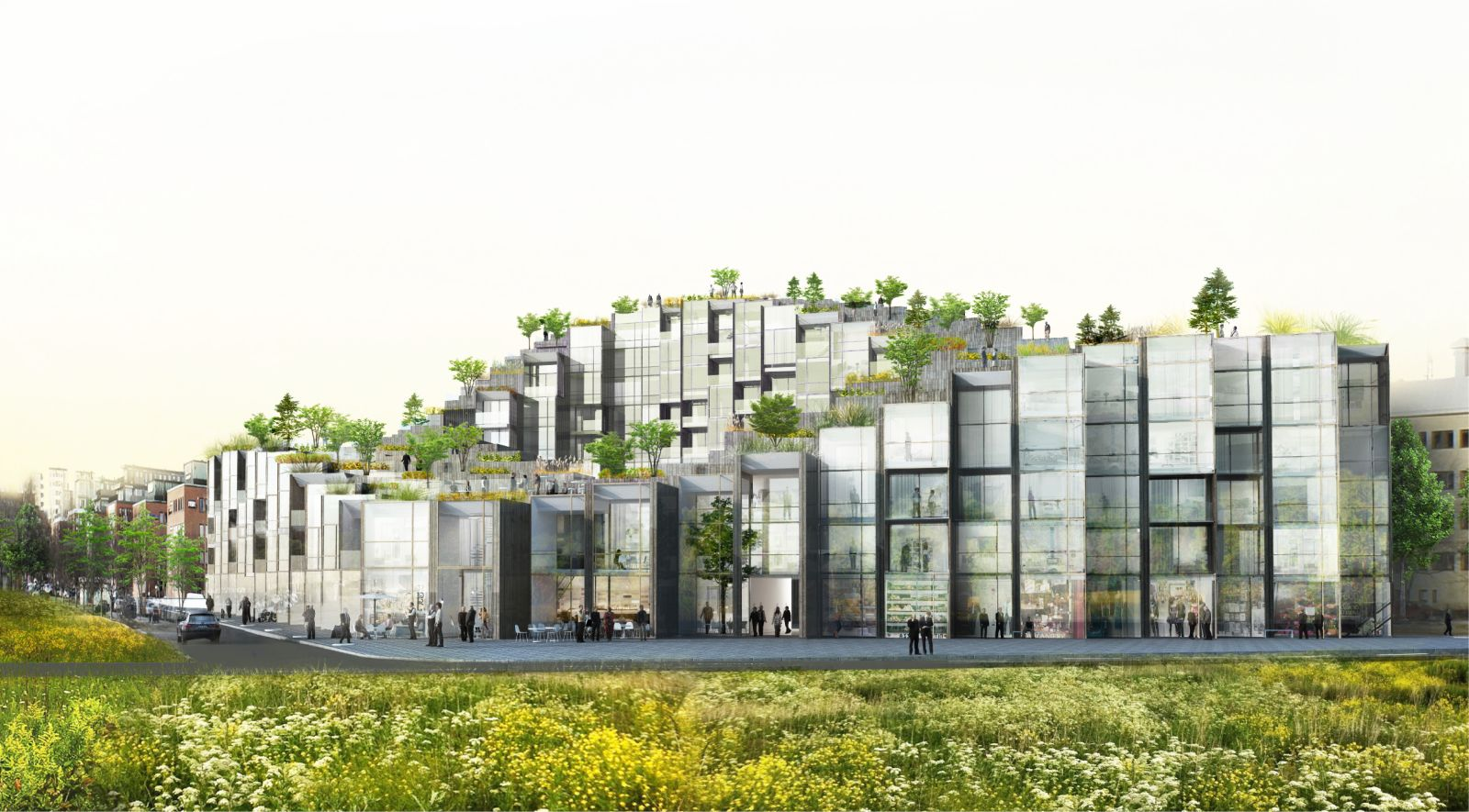 79 park by bjarke ingels group for Big bjarke ingels group