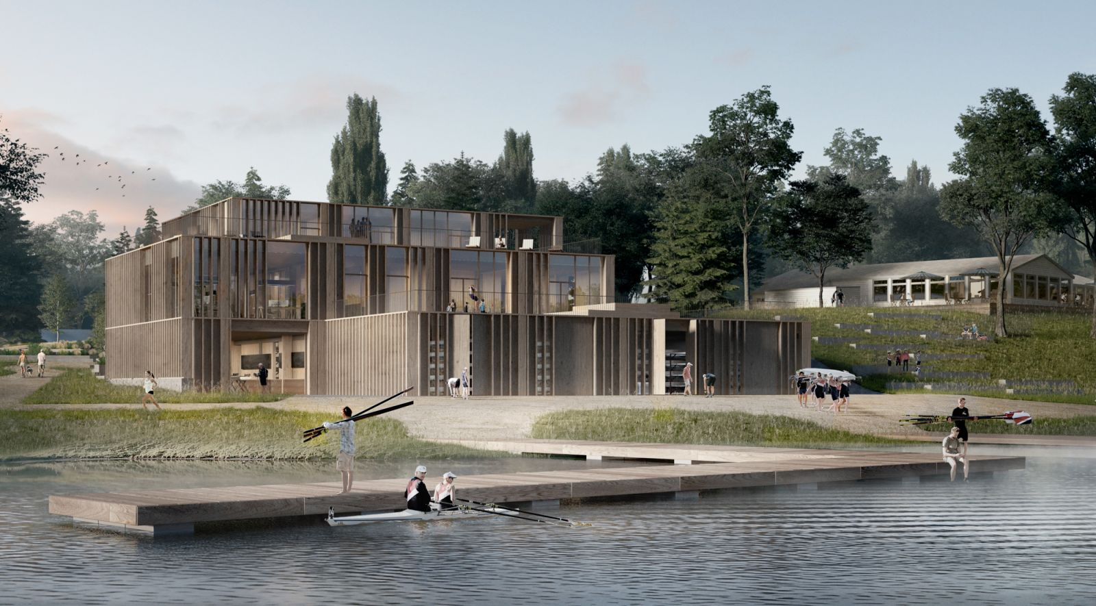 Denmark's Rowing Stadium