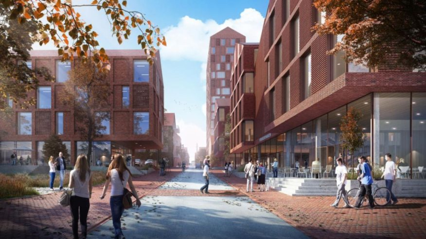new campus for Aarhus University