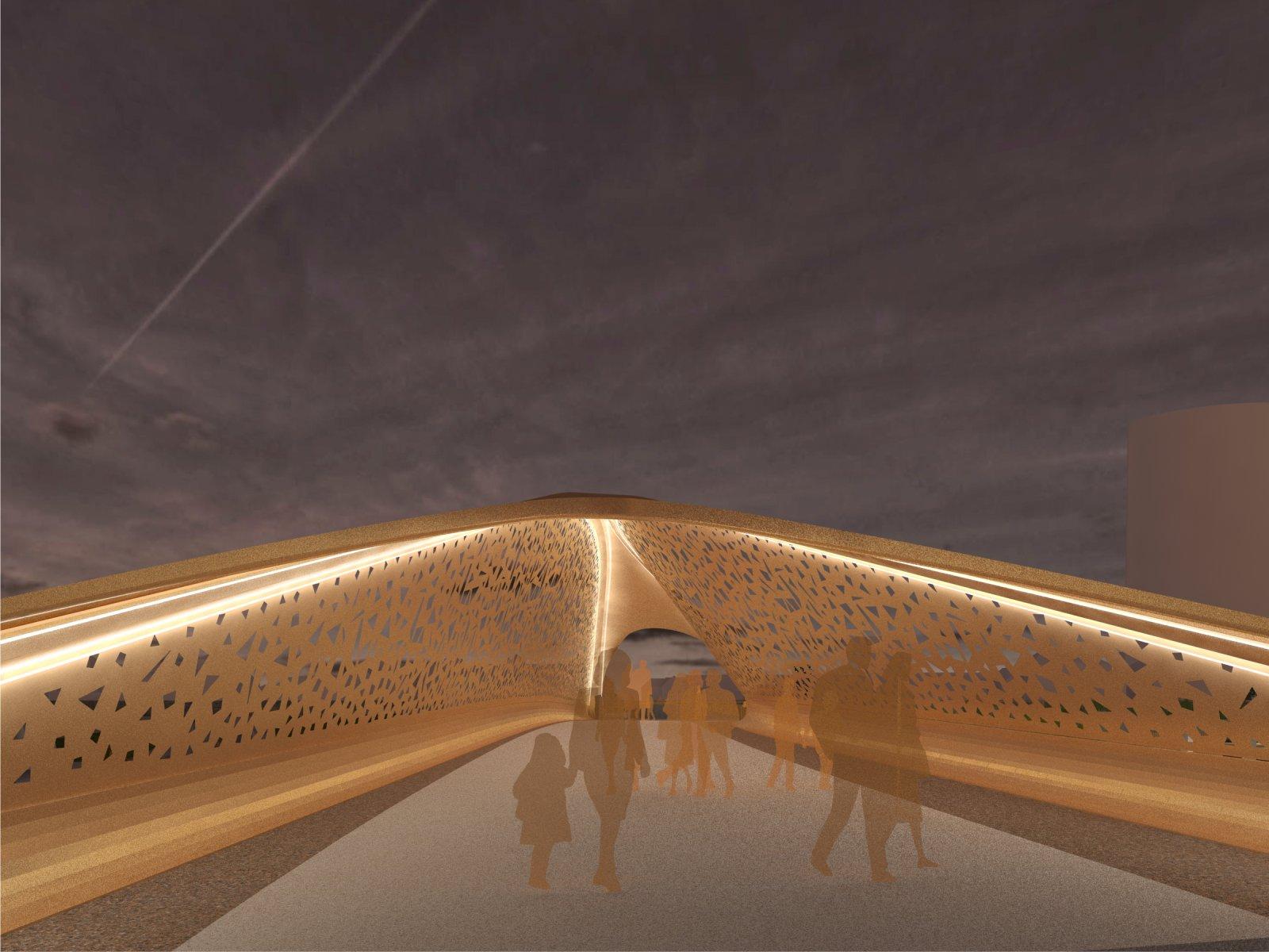 swan footbridge
