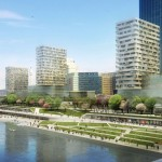 AZPML + SHARE architects present riverside Copa Cagrana masterplan for Vienna