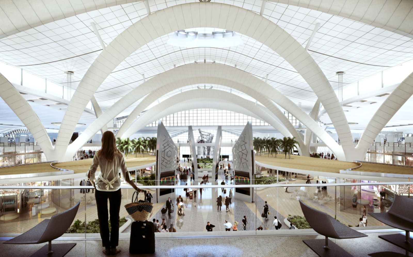 Abu dhabi international airport midfield terminal complex for International decor company abu dhabi