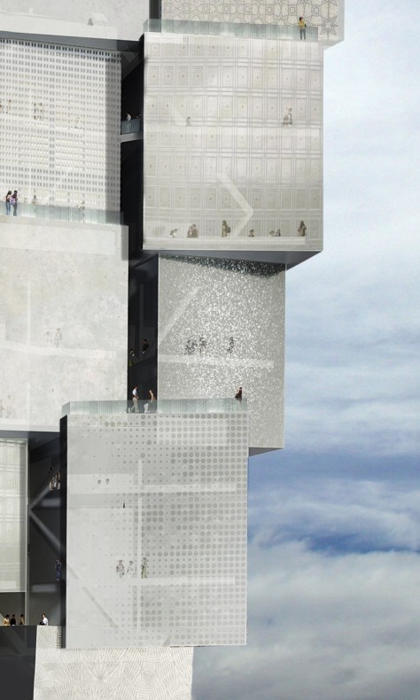 Aggregative Tower in Shanghai
