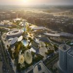 Aljada's Central Hub by Zaha Hadid Architects