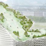 Amager Bakke Waste-to-Energy Plant Rooftop Park by SLA