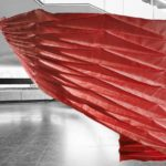 Samira Boon's ArchiFolds combines origami and technology in flexible textile structures