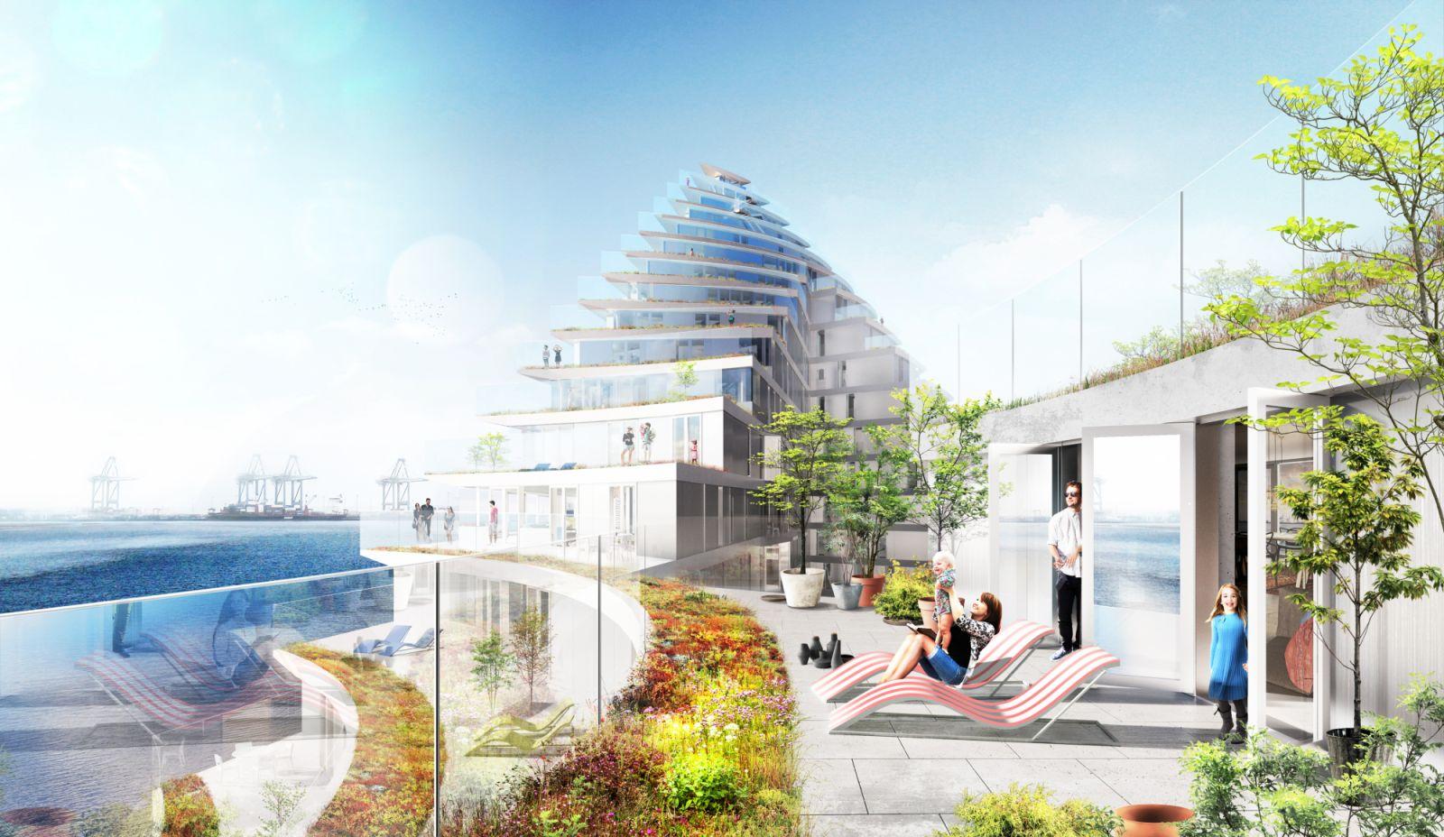 new urban development of Aarhus