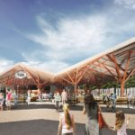 Balti Station Market by KOKO Architects