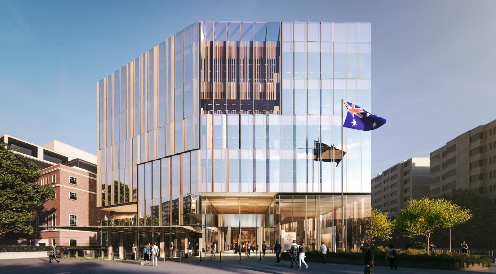 new Australian Embassy in Washington