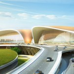 Zaha Hadid and ADPI unveil Beijing New Airport Terminal Building