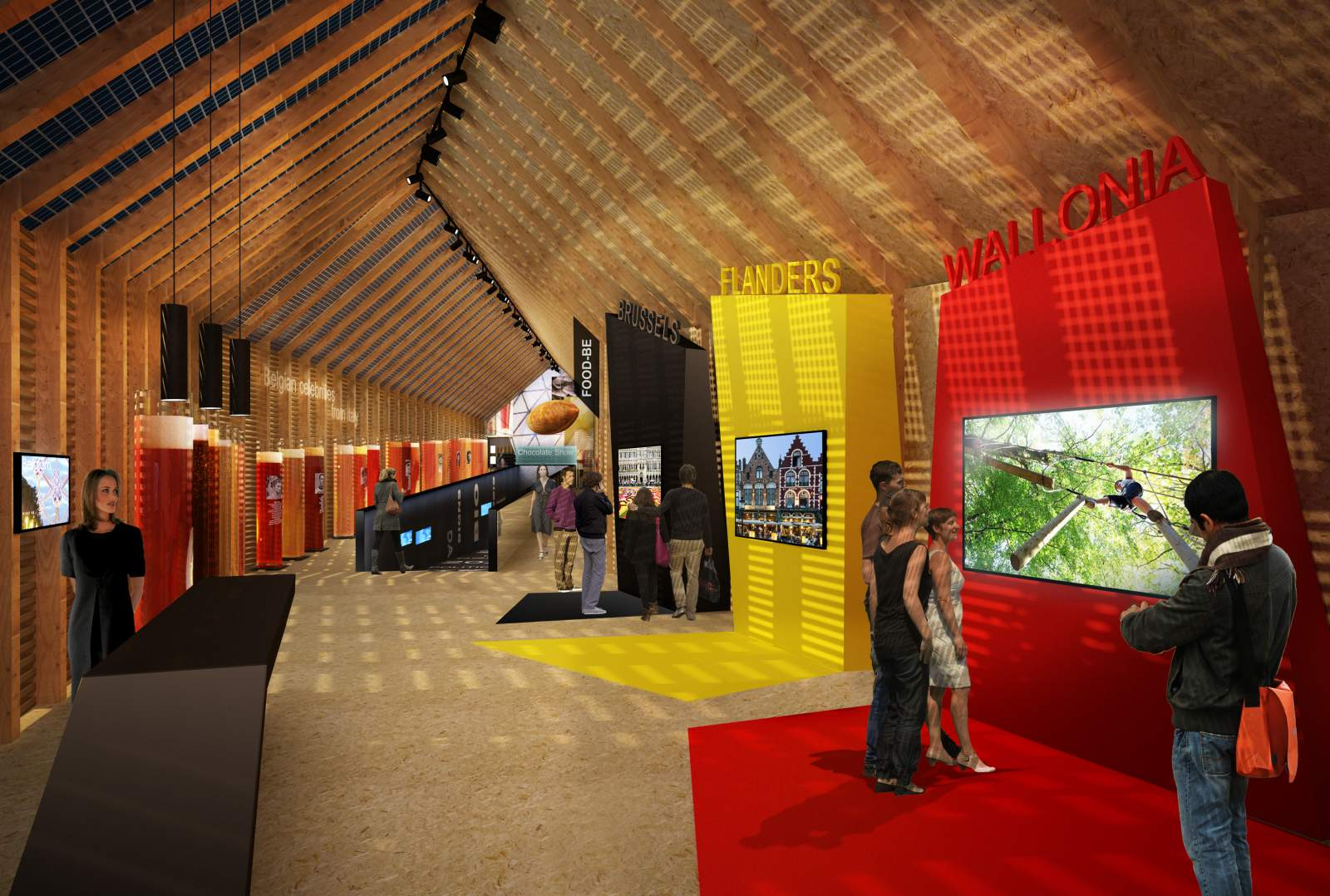 Belgium pavilion expo milano 2015 by patrick genard 11 for Home decor expo 2015