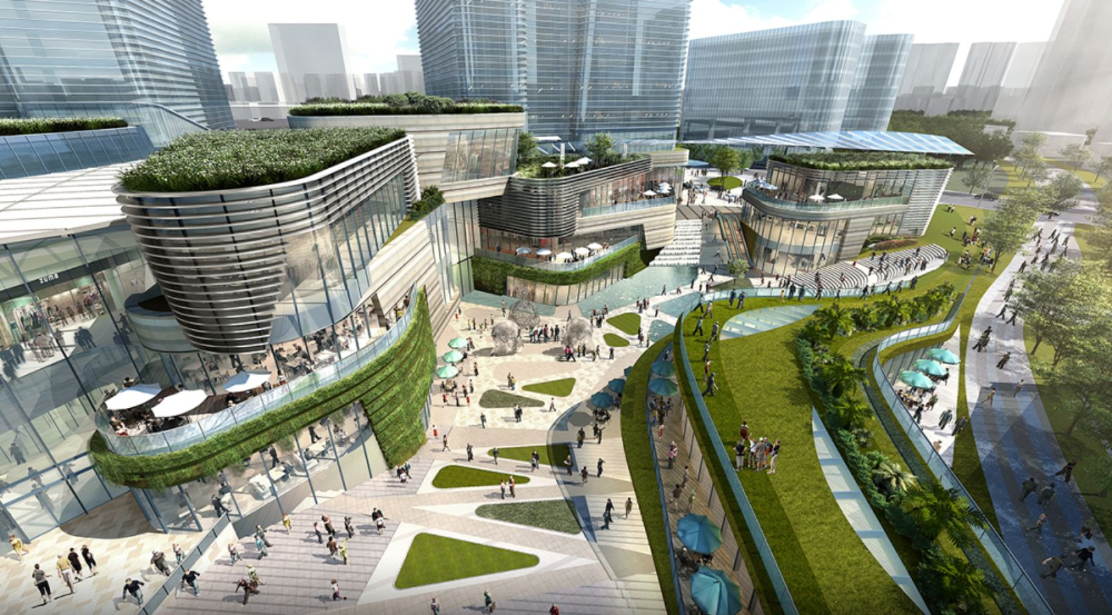 Elevated Home Designs Benoy Appointed To Xuhui Vanke Center In Shanghai A As