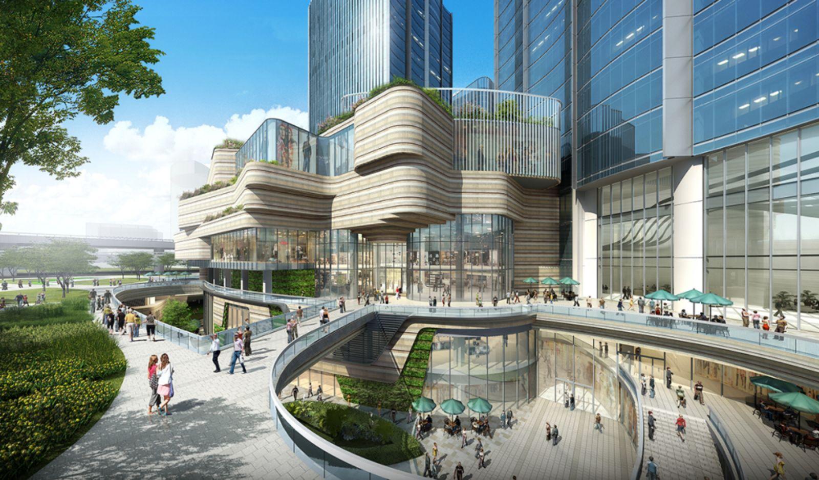Xuhui Vanke Center in Shanghai