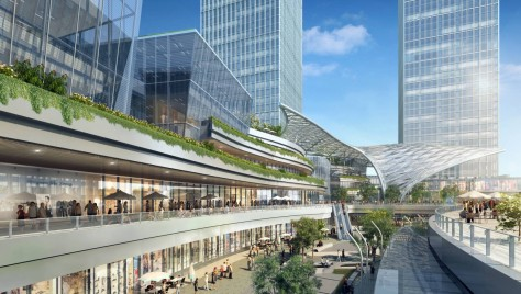 Emerging Qianhai Financial District