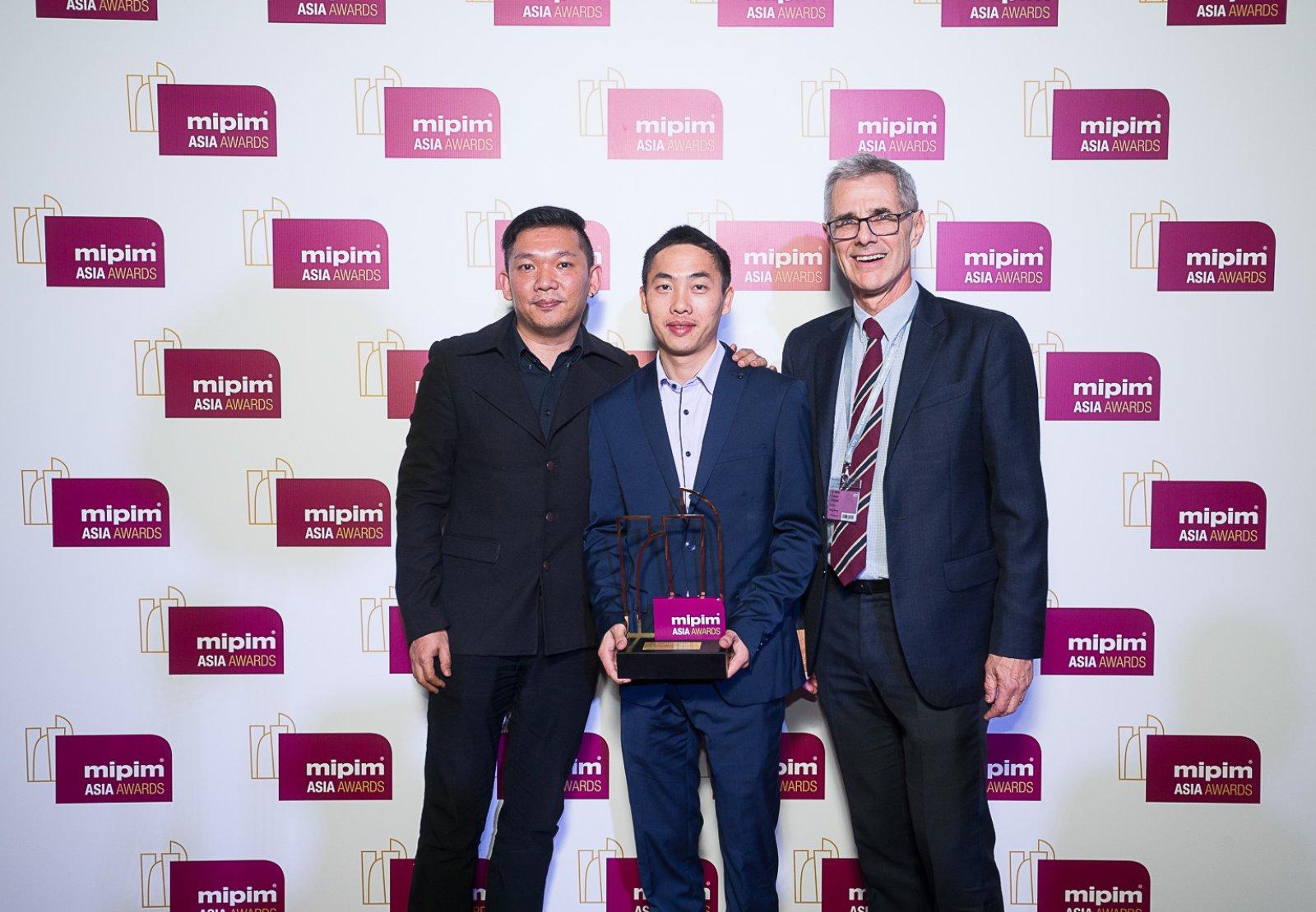 Benoy Success at 2016 MIPIM Asia Awards