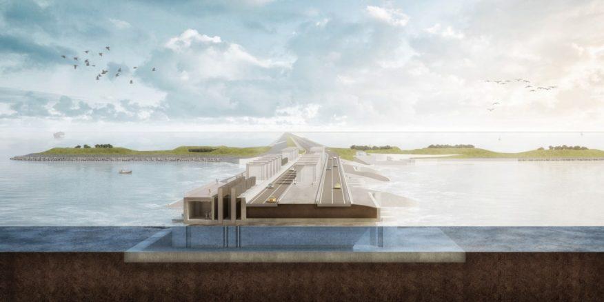 reinforcement of the Afsluitdijk