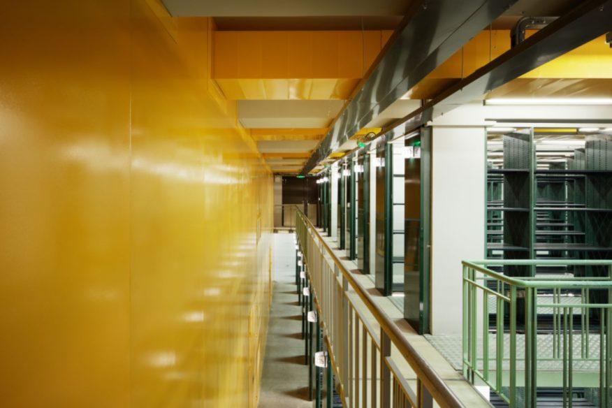 Restructuring of the Bibliothèque Nationale de France