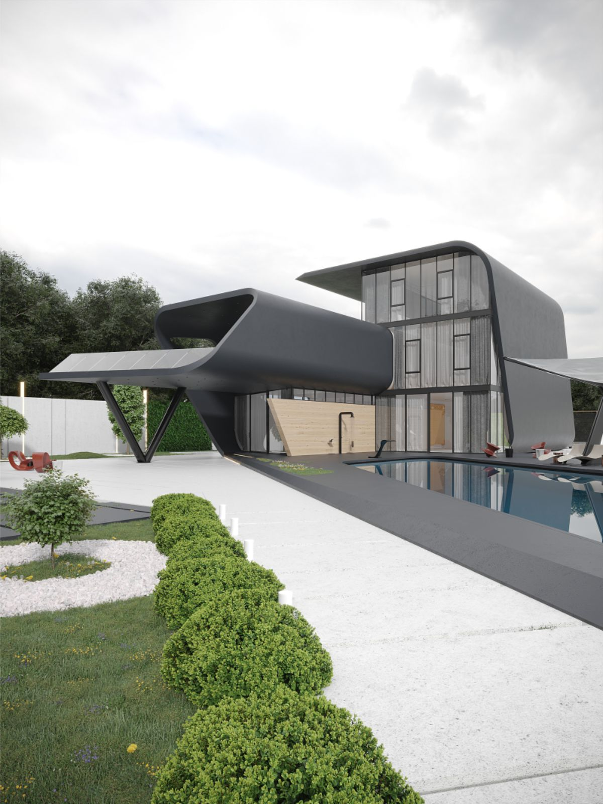 Black Shell House