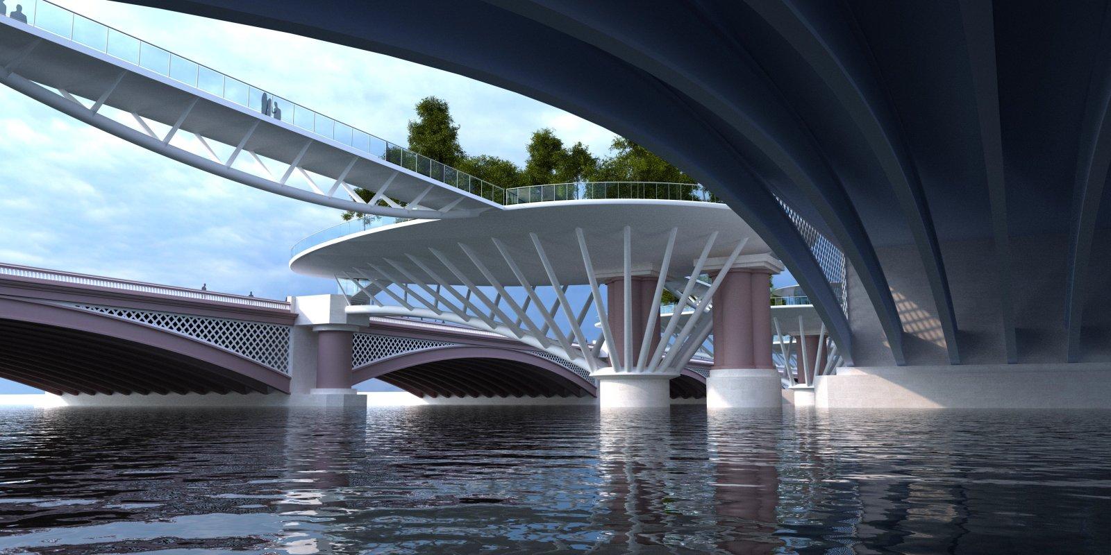 Blackfriars Garden Islands Bridge