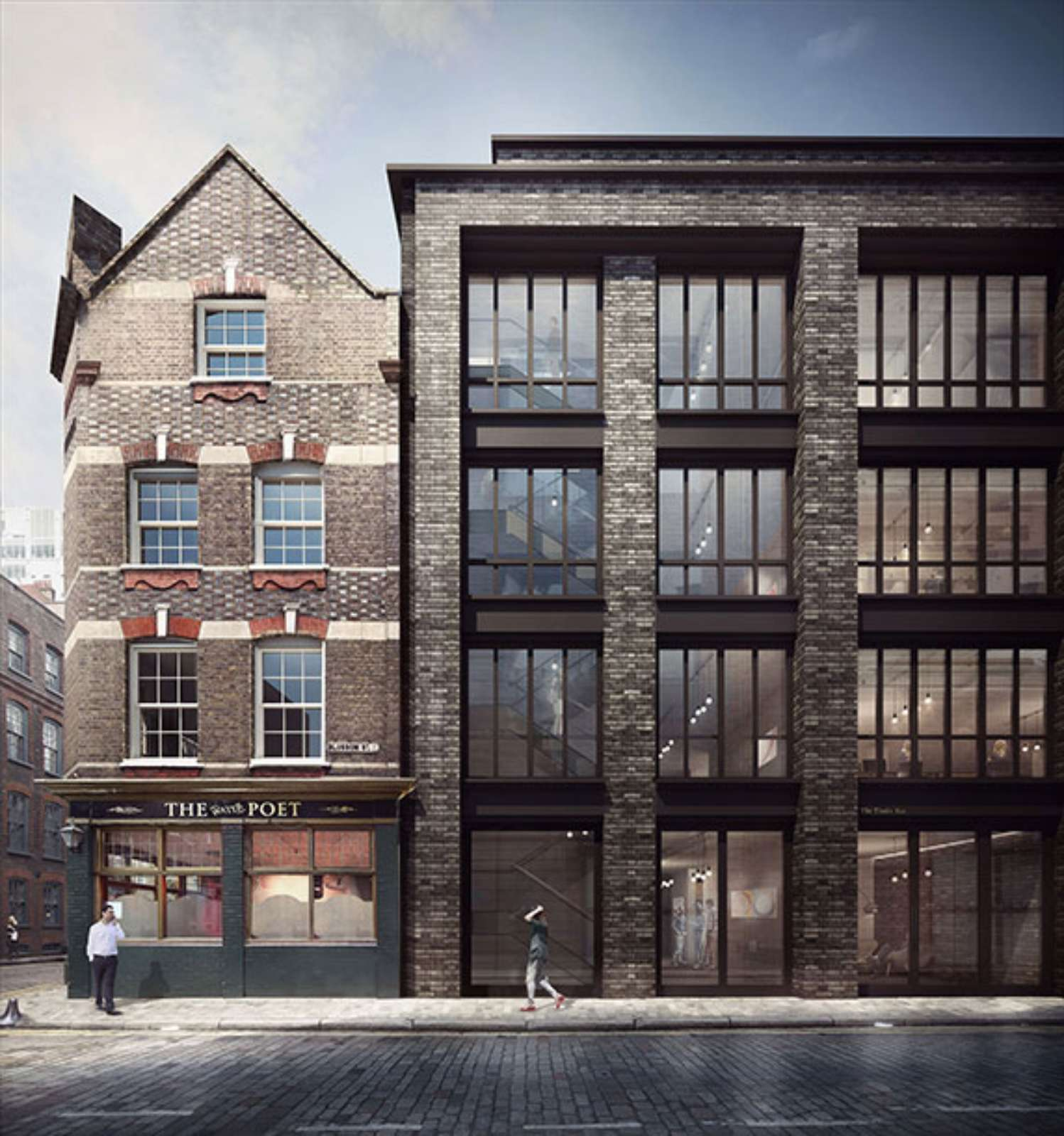 From Historic Warehouse To Splendid New Apartment S In London: Blossom-Street-Planning-by-Duggan-Morris-Architects-14