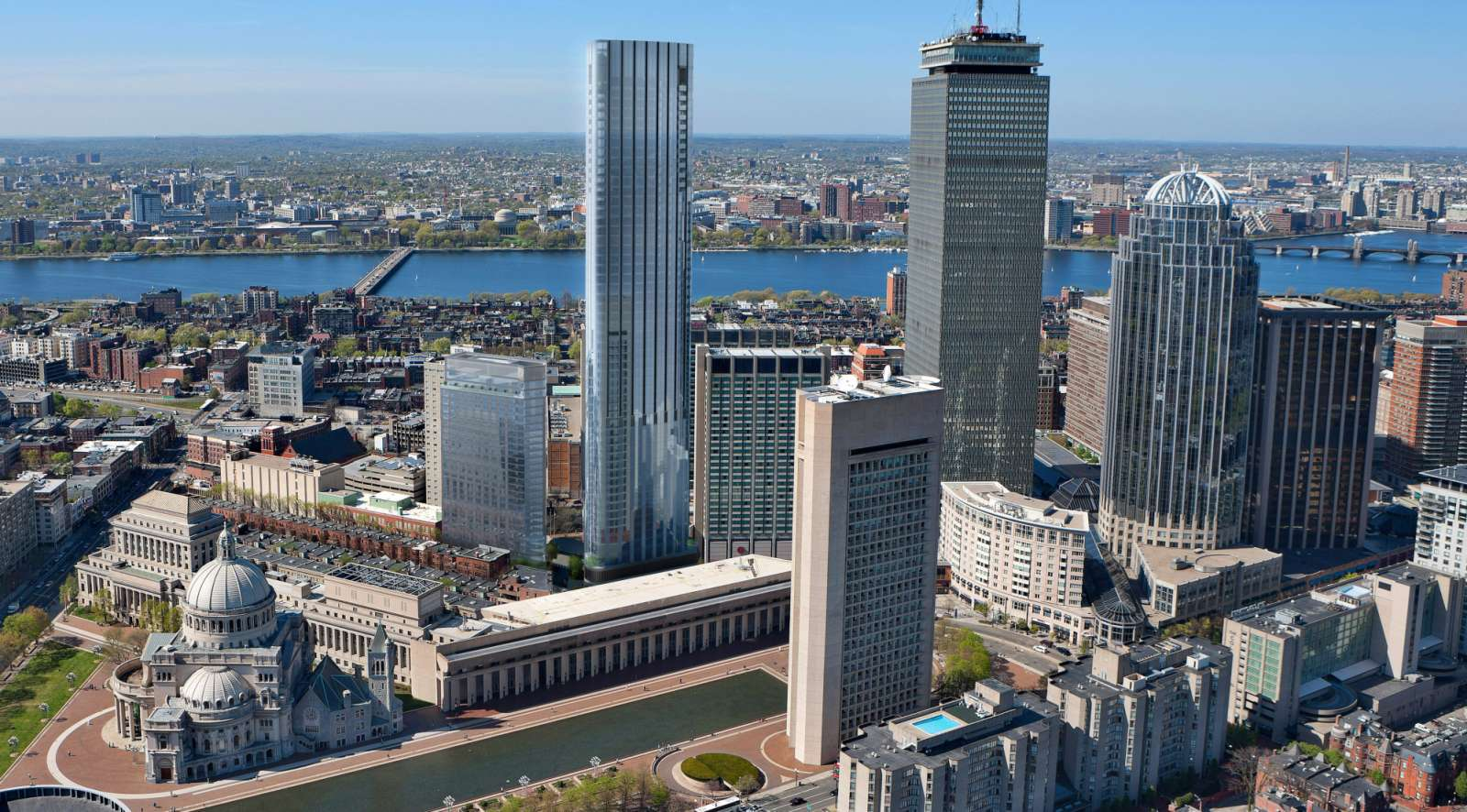 tallest residential building in Boston