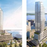 Break Ground for Monde Condominiums by Moshe Safdie