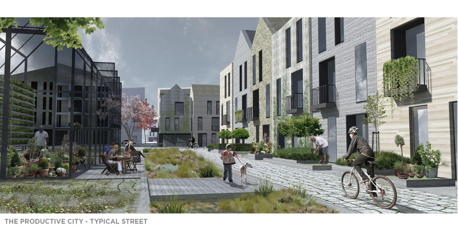 Brno centre a model for productive city living