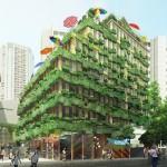 """Building """"Edisonlite"""" by Manuelle Gautrand Architecture"""