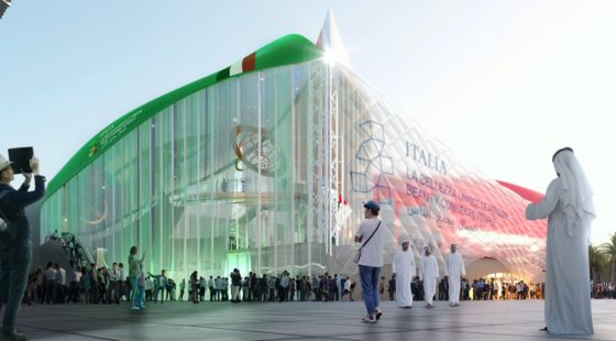 Italian Pavilion at Expo Dubai 2020