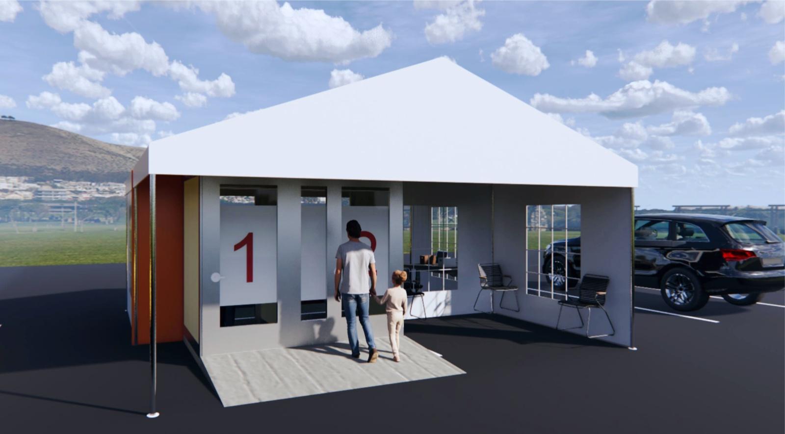 modular Walk-in Booth