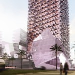Casablanca Finance City Tower by Morphosis