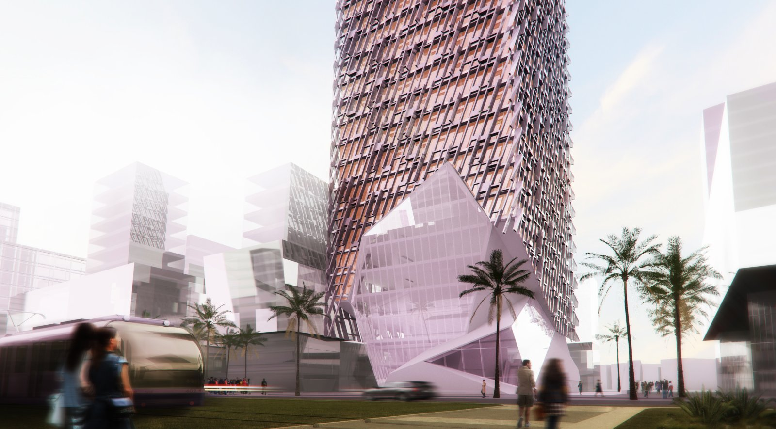 Casablanca Finance City Tower