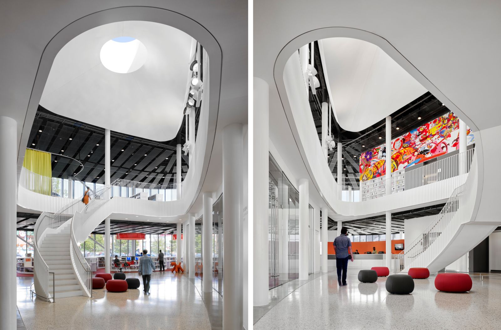 Chicago Public Library Chinatown Branch By Som 04 Aasarchitecture