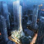 Chongqing Xinhua Bookstore Group Jiefangbei Book City Mixed-use by Aedas