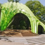 Chrysalis Amphitheater by Marc Fornes / Theverymany