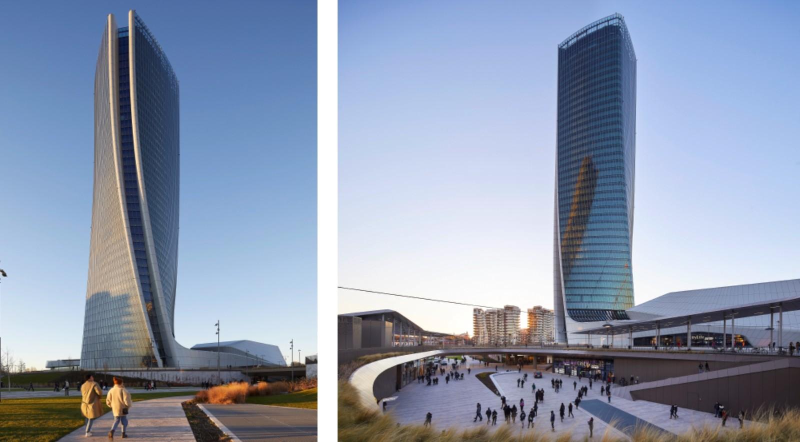 Citylife shopping district by zaha hadid architects zha for Zaha hadid city life