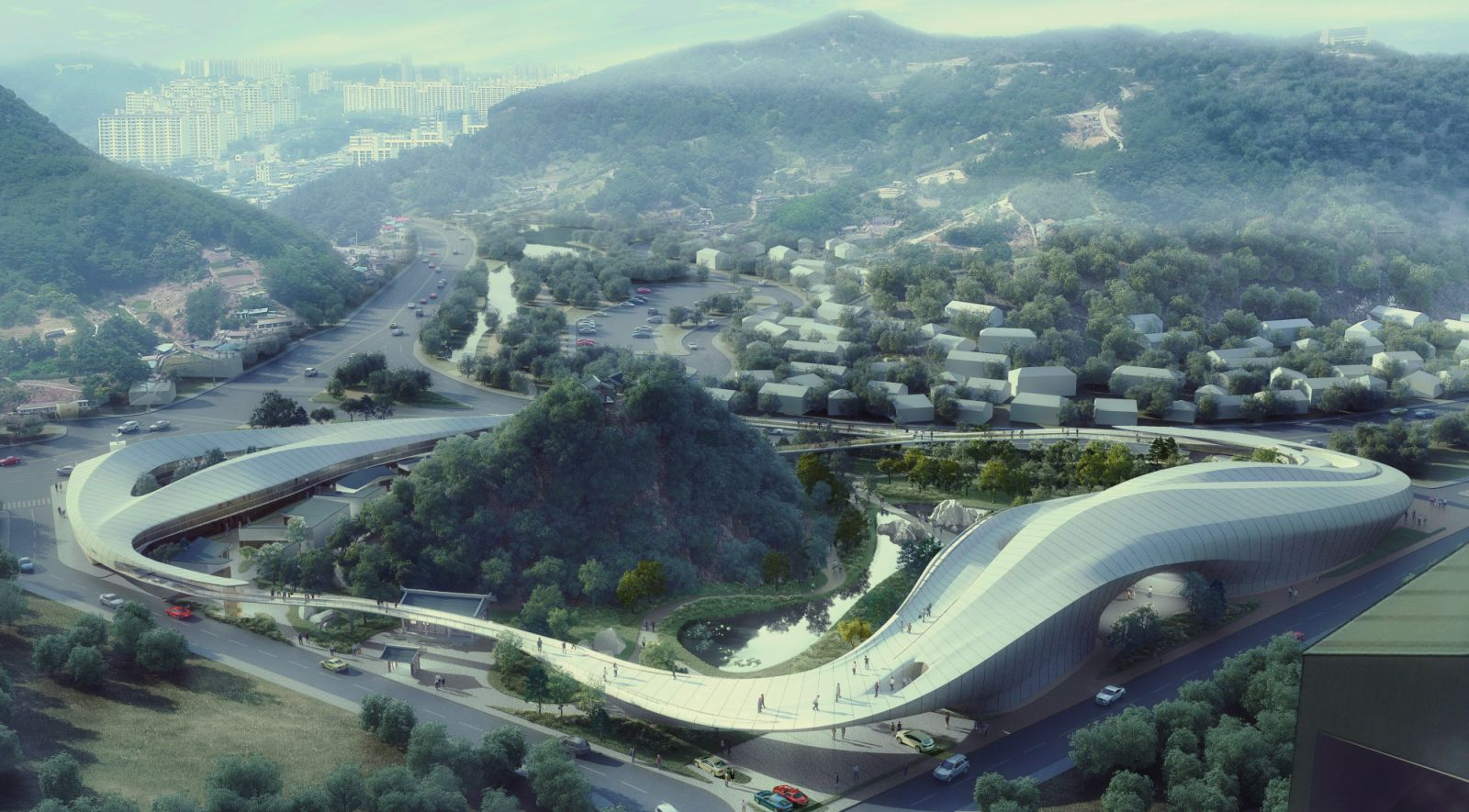 Cloud Garden Of General Yisabu By Caa Architects 00