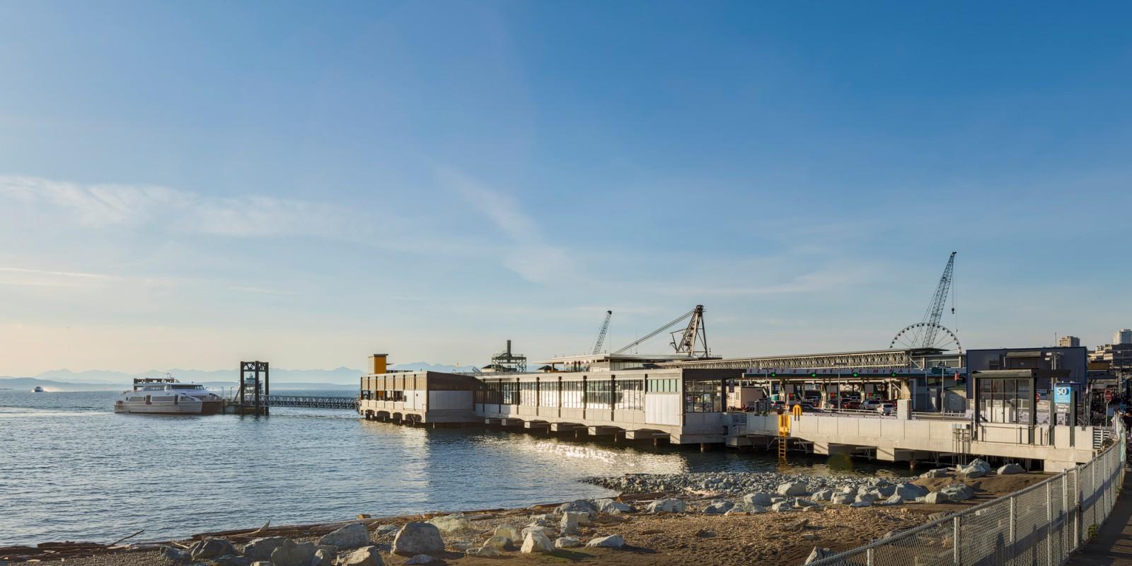 Colman Dock Water Taxi
