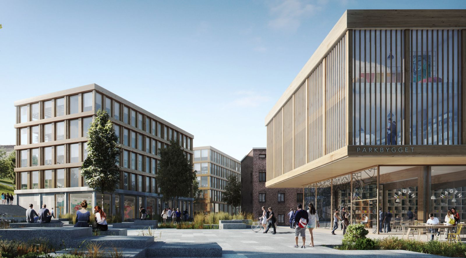 expansion of campus Gløshaugen