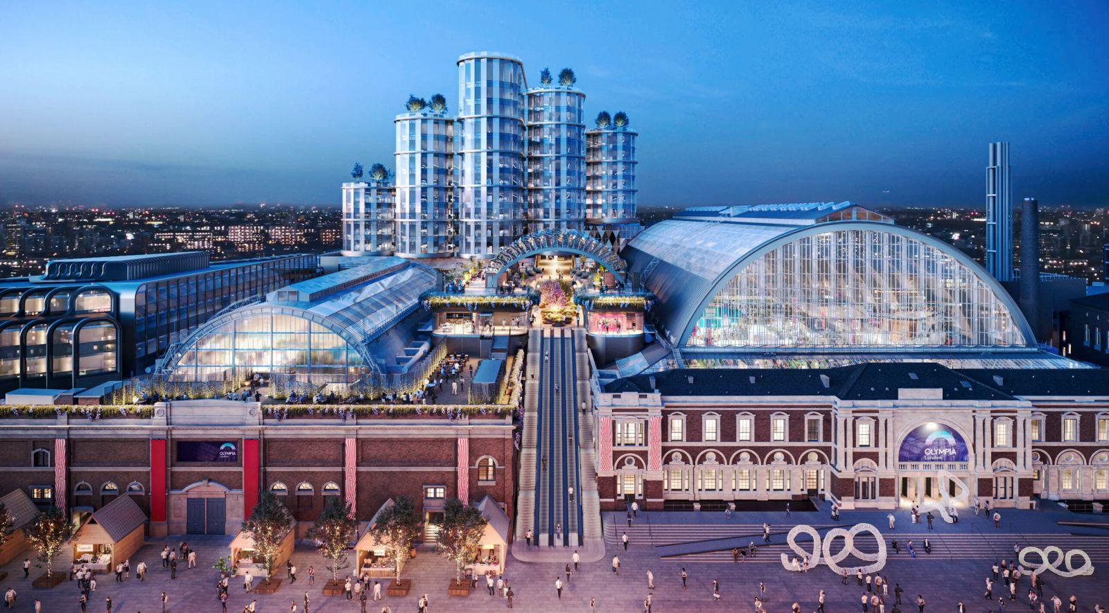 Olympia redevelopment