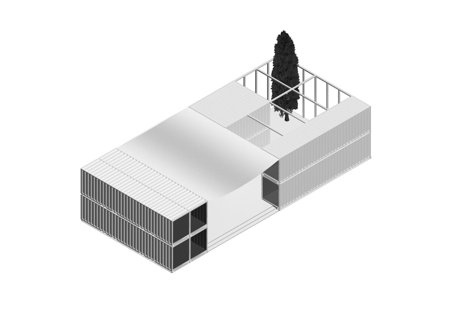 Architettura E Design container-sports-center-by-lad-laboratorio-di-architettura-e