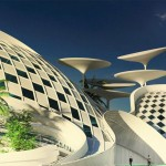 Convention Center in Cairo by Mohamed Elbangy