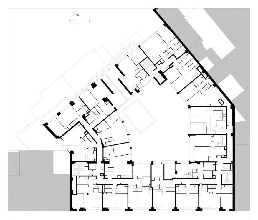 Conversion of an industrial building