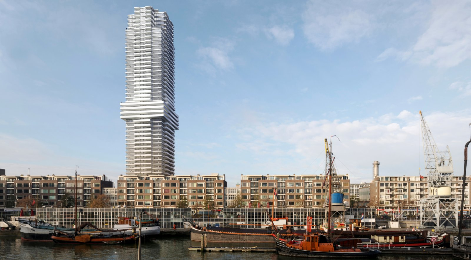 Cooltoren rotterdam by v8 architects for Architecture rotterdam