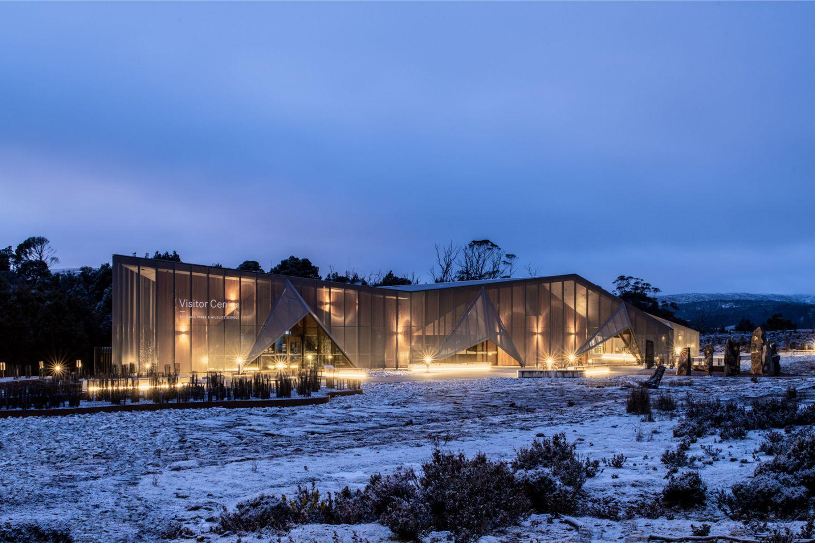 Cradle Mountain Visitor Centre by Cumulus Studio