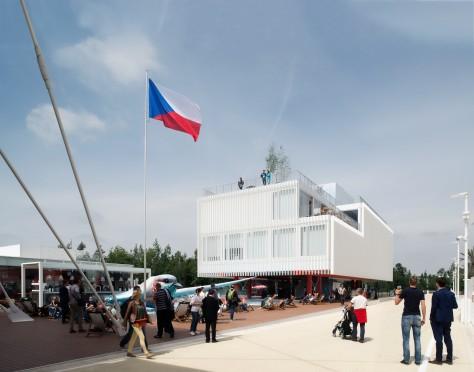 Czech Republic modular Pavilion Expo 2015