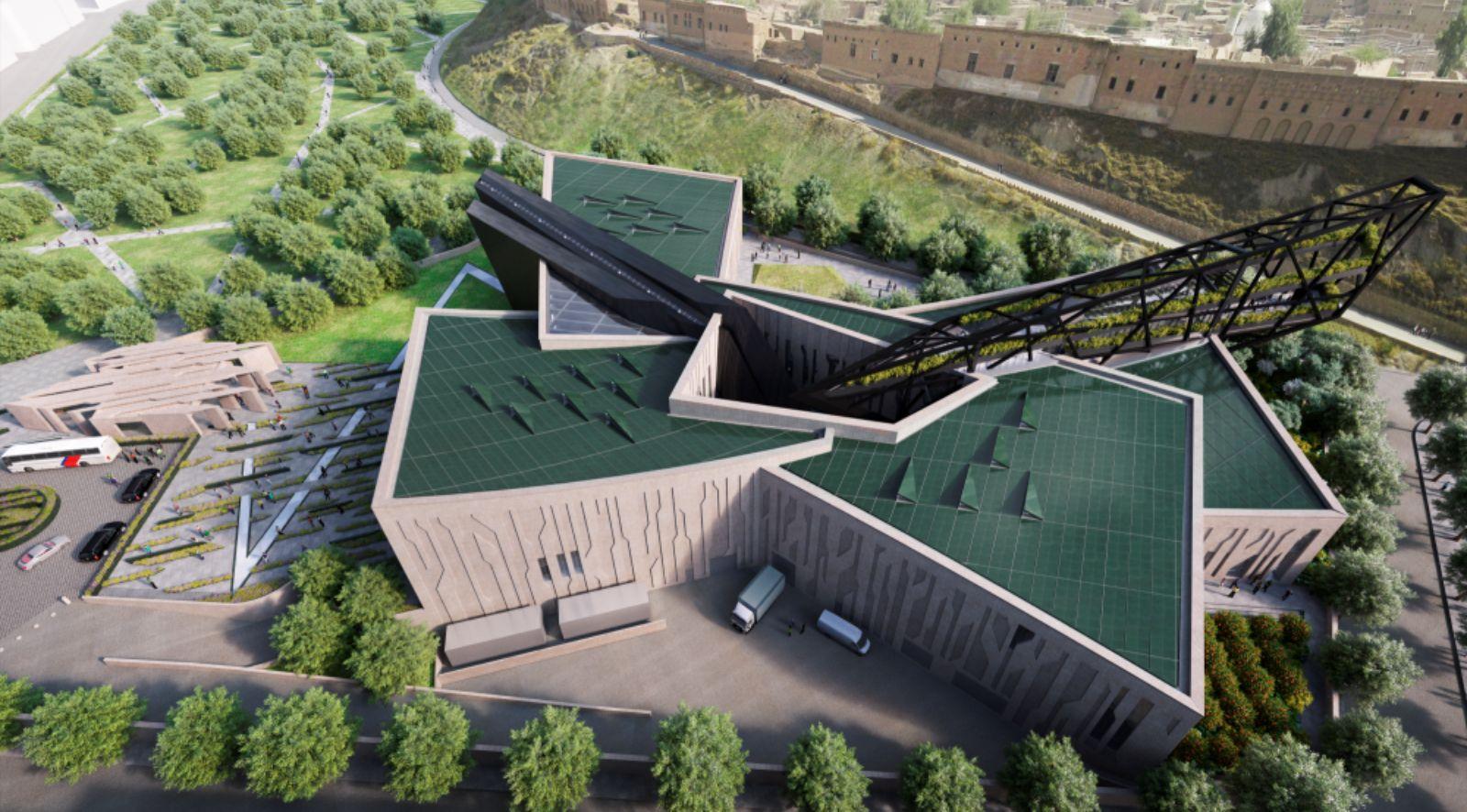 The Kurdistan Museum in Erbil