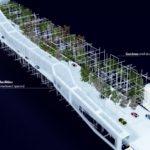 Danjiang Bridge Design proposal by ME Architects